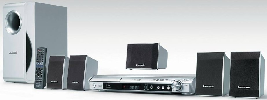 Домашний кинотеатр Panasonic SC-PT150 GC-S уценка 2330R СТОК (НК БУ ... 20f0e85436e